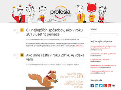 Blog Profesia.sk