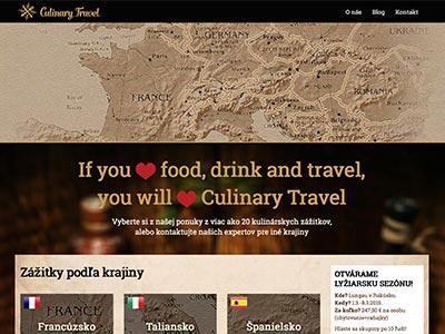 Kulinárske zážitky Culinary Travel