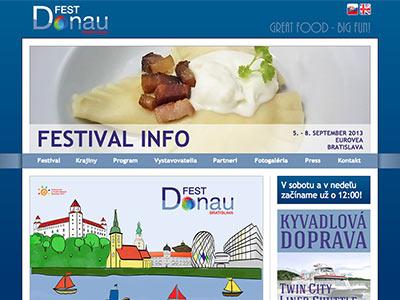 Gastronomický festival Donau FEST