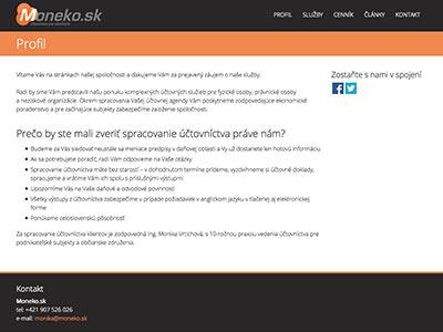 Účtovnícke služby Moneko.sk