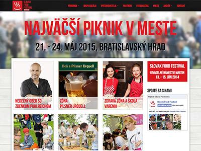 Gastronomický festival Slovak Food Festival