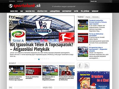 Športový portál Sportolunk.sk