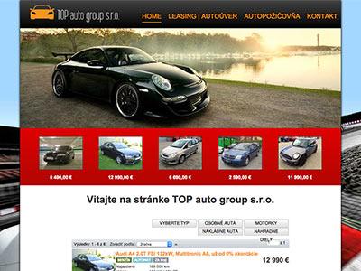 Autobazár TOP auto group